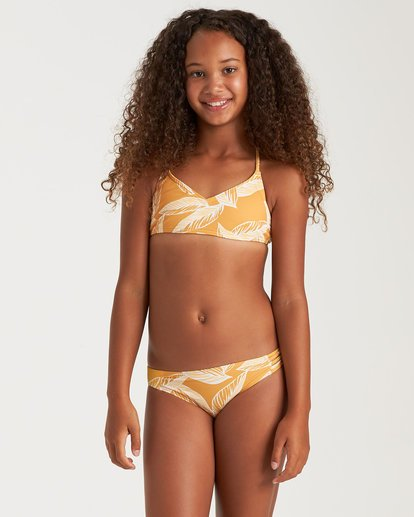 0 Girls' Little Sun Crossback Yellow Y2052BLI Billabong