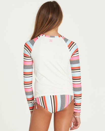 2 Girls' Like That Rashguard Set  Y205PBLI Billabong