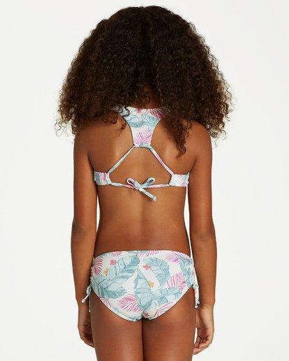 2 Girls' Mas Playas High Neck Swim Set  Y205VBMA Billabong