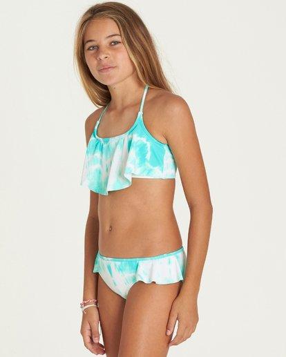 1 Girls' Peace 4 You Flutter Swim Set  Y206PBPE Billabong