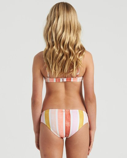 5 Girls' So Stoked Bralette Bikini Set Grey Y2073BSO Billabong