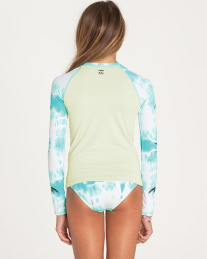 1 Girls' Peace 4 You Rashguard Set  Y208PBPE Billabong