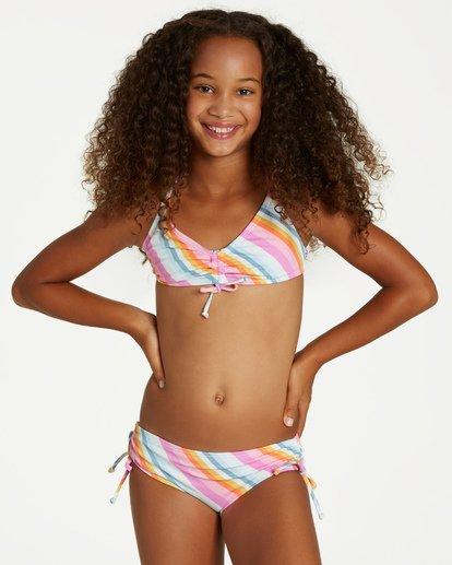 0 Girls' Magic Hour Tali Swim Set  Y209VBMA Billabong