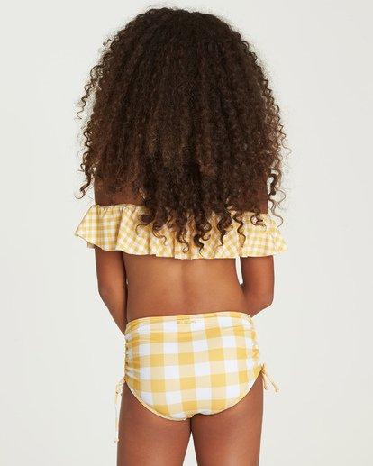 2 So Golden Ruffle Bikini Set Yellow Y211UBSO Billabong