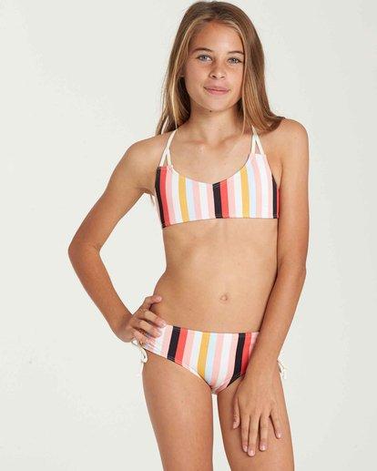 0 Girls' Come On By Crossback Swim Set Black Y213QBCO Billabong