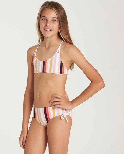 1 Girls' Come On By Crossback Swim Set  Y213QBCO Billabong