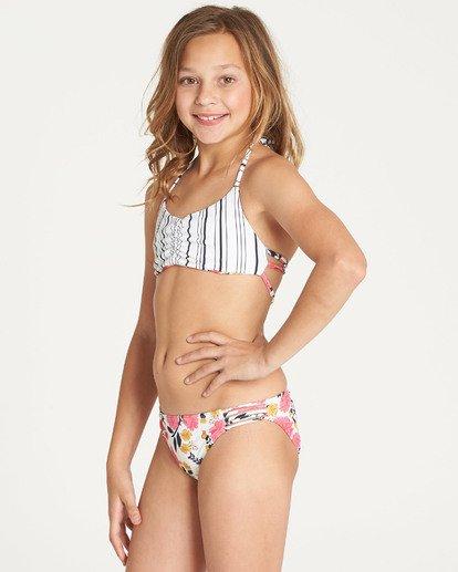 1 Girls' Sun Dream Tali Bikini Set Grey Y213TBSU Billabong
