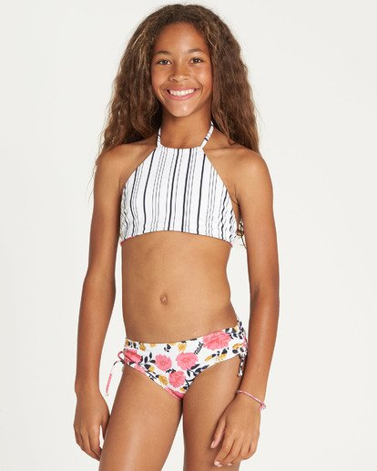 2 Girls' Sun Dream High Neck Bikini Set  Y214TBSU Billabong