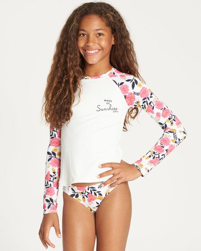 2 Girls' Sun Dream Rashguard Set  Y215TBSU Billabong