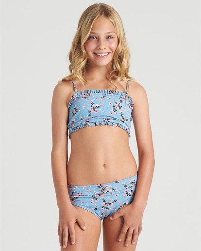 0 Girls' Sweet Tide Tank Bikini Set Blue Y2173BSW Billabong