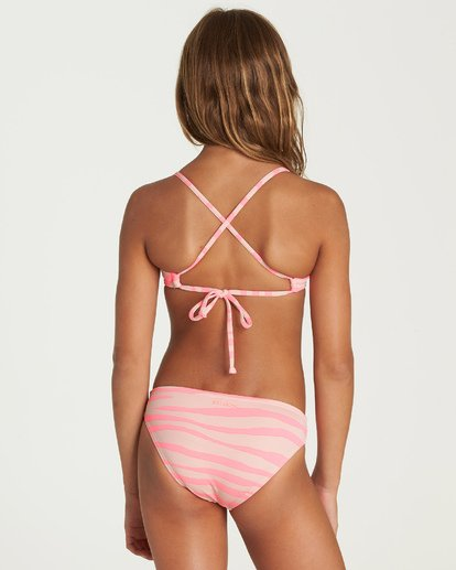 2 Wild Dream Tali Bikini Set Pink Y217UBWI Billabong