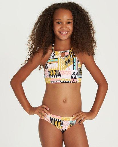 0 Mod Love High Neck Bikini Set Black Y218UBMO Billabong