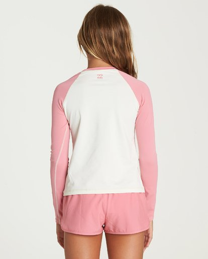 2 Sol Searcher Rashguard Pink YR01UBSO Billabong