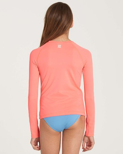 2 Girls' Sol Searcher Long Sleeve Rashguard  YR02NBSO Billabong
