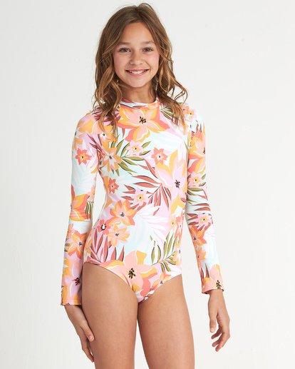 0 Girls' Dreamy Daze Bodysuit Grey YR041BDR Billabong