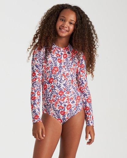 1 Girls' Free Babe Bodysuit Grey YR062BFR Billabong