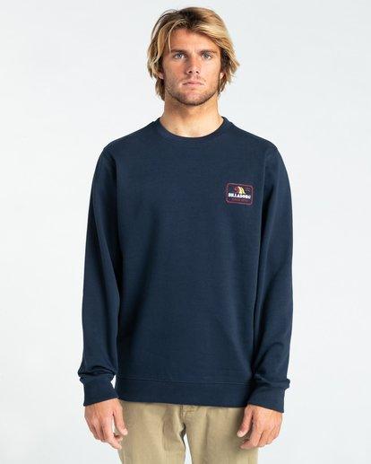2 Walled - Sweatshirt for Men Blue Z1CR03BIF1 Billabong