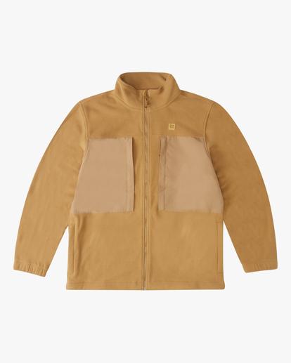 0 Canyon Graphene - Sweatshirt mit Reißverschluss für Männer Braun Z1FL55BIF1 Billabong