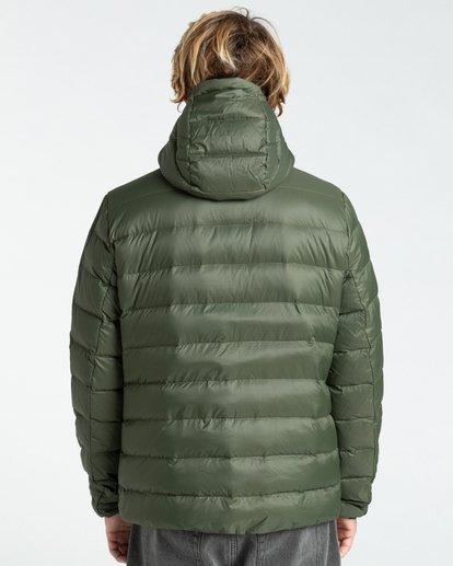 1 Broadpeak Po - Puffer Jacket for Men Green Z1JK31BIF1 Billabong