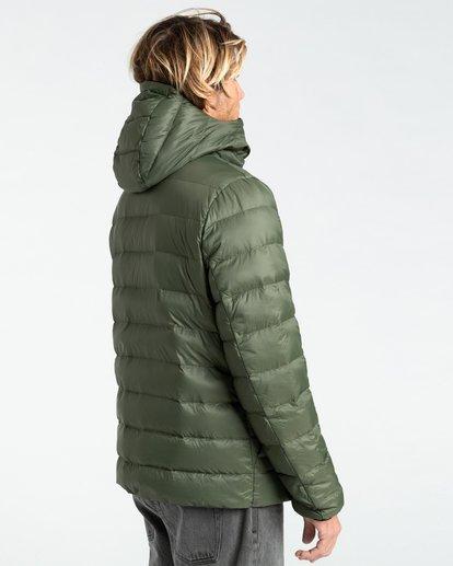 3 Broadpeak Po - Puffer Jacket for Men Green Z1JK31BIF1 Billabong