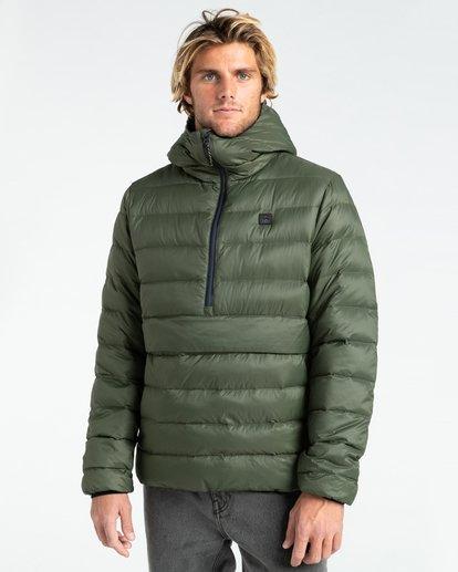 0 Broadpeak Po - Puffer Jacket for Men Green Z1JK31BIF1 Billabong