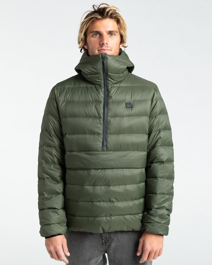 2 Broadpeak Po - Puffer Jacket for Men Green Z1JK31BIF1 Billabong