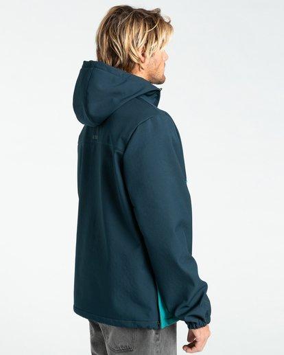 4 Boundary - Wasserabweisende Jacke für Männer Blau Z1JK33BIF1 Billabong