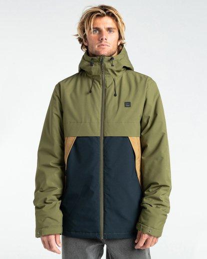 1 Transport Stretch 10K - Wasserdichte Jacke für Männer Mehrfarbig Z1JK36BIF1 Billabong