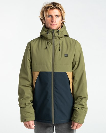 3 Transport Stretch 10K - Wasserdichte Jacke für Männer Mehrfarbig Z1JK36BIF1 Billabong