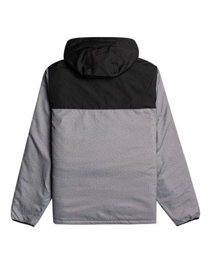 5 Bus Stop - Puffer Jacket for Men Grey Z1JK38BIF1 Billabong