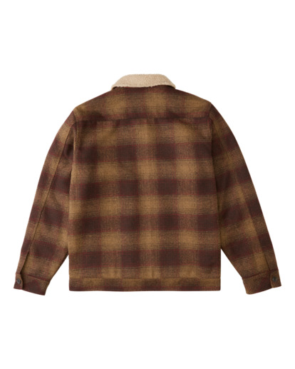 1 Barlow Sherpa - Trucker Jacket for Men Brown Z1JK43BIF1 Billabong