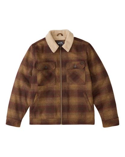0 Barlow Sherpa - Trucker Jacket for Men Brown Z1JK43BIF1 Billabong