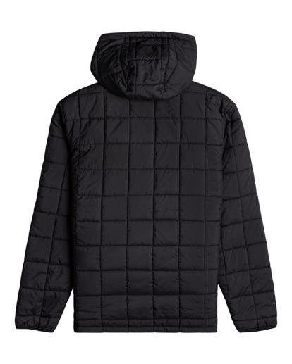1 Journey Puffer - Puffer Jacket for Men Black Z1JK45BIF1 Billabong