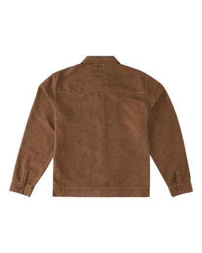 5 Wrangler Maverick Moleskin - Jacket for Men Brown Z1JK50BIF1 Billabong