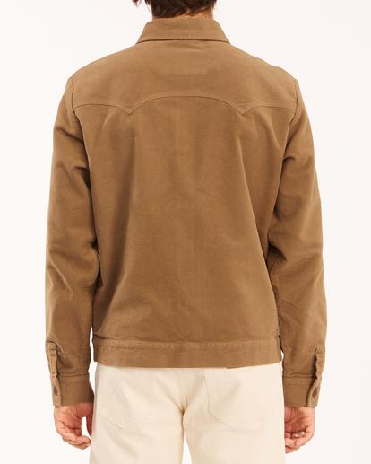 2 Wrangler Maverick Moleskin - Jacket for Men Brown Z1JK50BIF1 Billabong