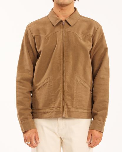 0 Wrangler Maverick Moleskin - Jacket for Men Brown Z1JK50BIF1 Billabong