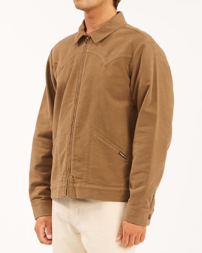 1 Wrangler Maverick Moleskin - Jacket for Men Brown Z1JK50BIF1 Billabong