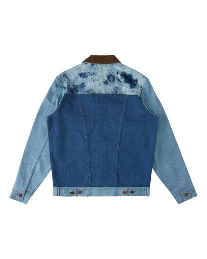6 Wrangler Team Ranch Mixup - Denim Jacket for Men Blue Z1JK52BIF1 Billabong