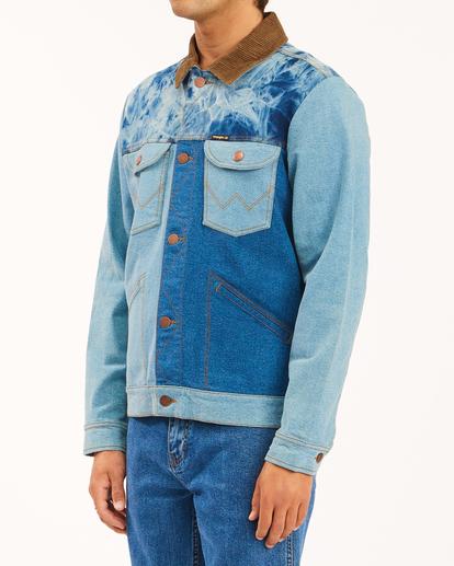 2 Wrangler Team Ranch Mixup - Denim Jacket for Men Blue Z1JK52BIF1 Billabong