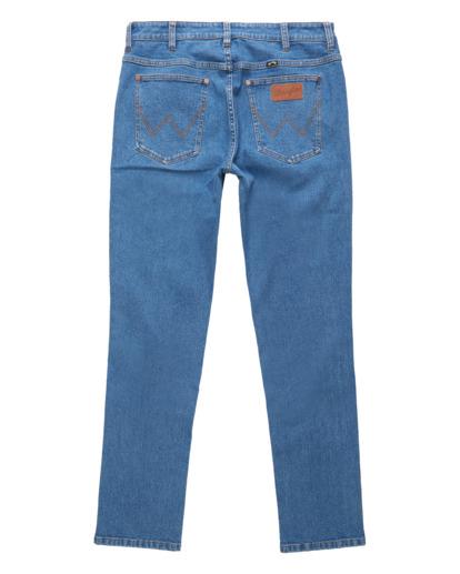 5 Wrangler 73 Hemp - Pantalones Vaqueros Rectos para Hombre Azul Z1PN11BIF1 Billabong