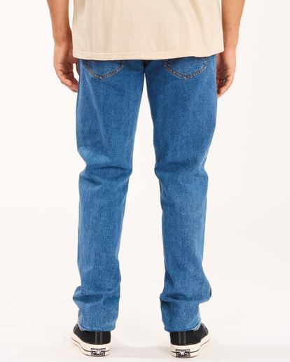 3 Wrangler 73 Hemp - Pantalones Vaqueros Rectos para Hombre Azul Z1PN11BIF1 Billabong