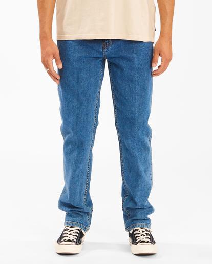Wrangler 73 Hemp - Straight Leg Jeans for Men  Z1PN11BIF1