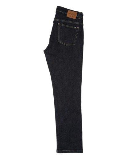 1 73 - Pantalones Vaqueros Rectos para Hombre Azul Z1PN12BIF1 Billabong