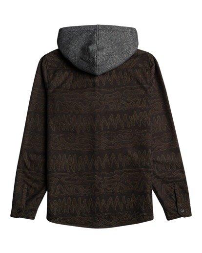5 Furnace Bonded - Camisa resistente al agua con capucha para Hombre Negro Z1SH28BIF1 Billabong