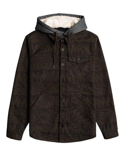 3 Furnace Bonded - Camisa resistente al agua con capucha para Hombre Negro Z1SH28BIF1 Billabong