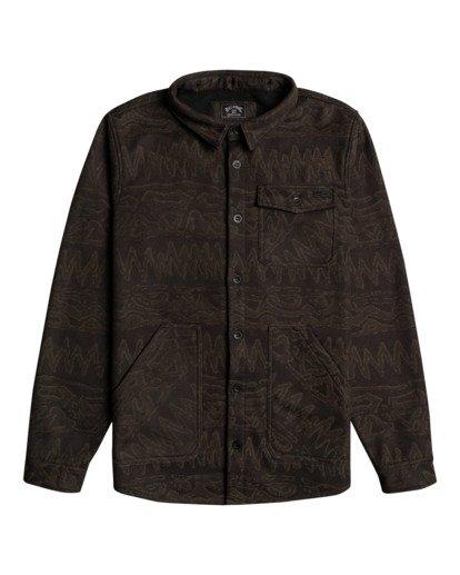 4 Furnace Bonded - Camisa resistente al agua con capucha para Hombre Negro Z1SH28BIF1 Billabong