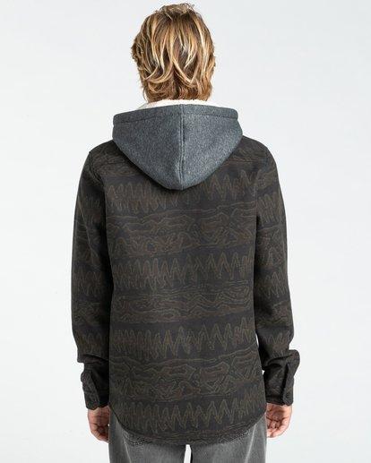 1 Furnace Bonded - Camisa resistente al agua con capucha para Hombre Negro Z1SH28BIF1 Billabong
