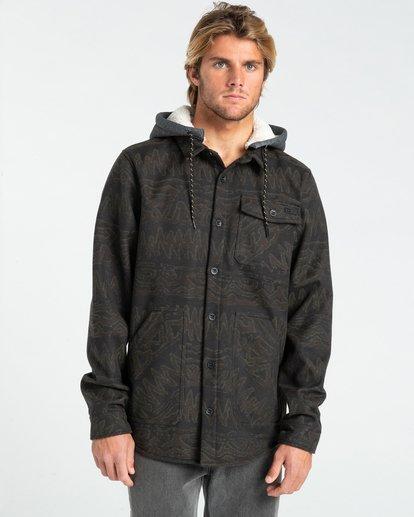 0 Furnace Bonded - Camisa resistente al agua con capucha para Hombre Negro Z1SH28BIF1 Billabong