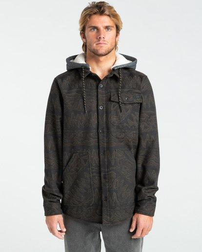 2 Furnace Bonded - Camisa resistente al agua con capucha para Hombre Negro Z1SH28BIF1 Billabong