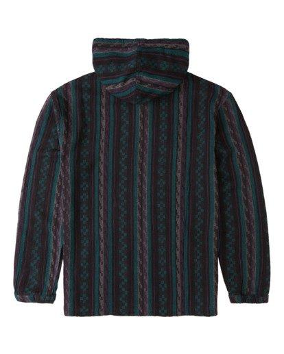1 Baja - Camisa de manga larga y capucha para Hombre Negro Z1SH37BIF1 Billabong